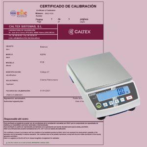 Calibración de Basculas